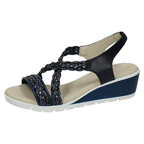MADE IN SPAIN , sandales femme Bleu Marine