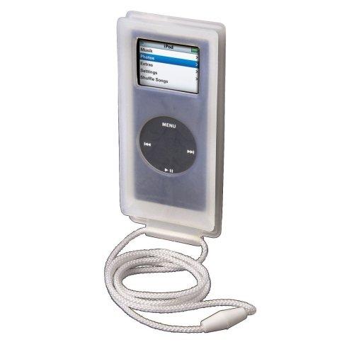 Hama Black Winders Case MP3-Tasche für Apple iPod nano 2. Generation transparent