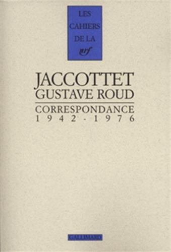 Correspondance: 1942-1976 (Les cahiers de la NRF)