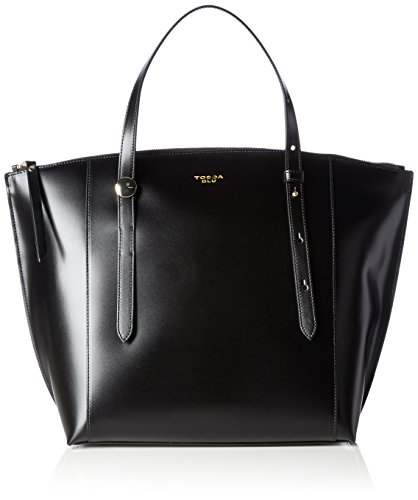 Tosca BluPANAREA - Borsa shopper Donna , Nero (Schwarz (BLACK C99)), 33x33x16 cm (B x H x T)