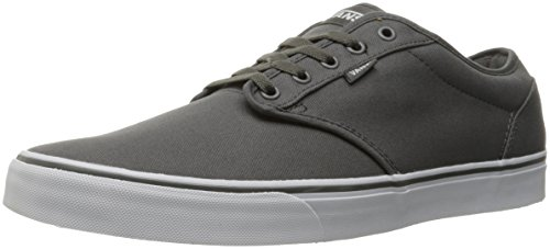Vans Men Atwood Canvas Low-Top Sneakers, Grey (Pewter/White), 12 UK (47 EU)