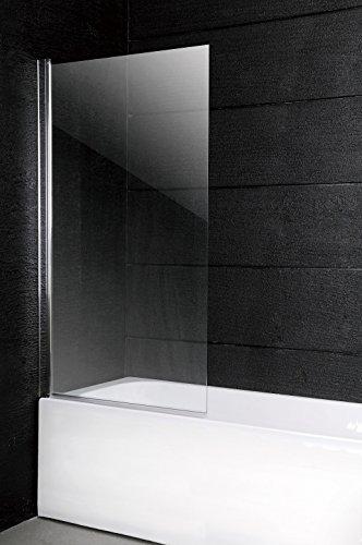 duschwand ecke 150 x 100 cm Badewannen Faltwand Duschwand Glaswand Duschabtrennung Glas 6 mm