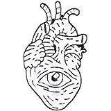 JWGD 19style anatómico del corazón del Esmalte Pernos Médica Anatomía Broche del corazón Neurología contactos por un médico y