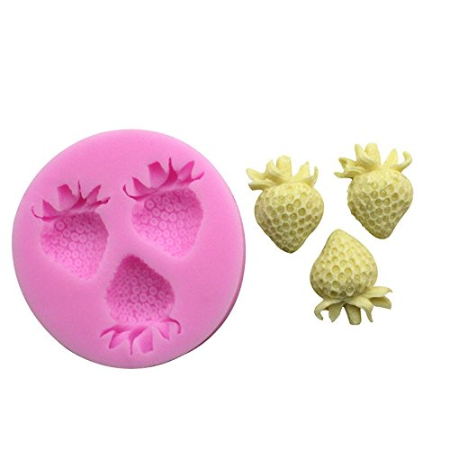 Cupcinu Kuchenform Erdbeere Silikonform Gum Candy Schokoladenform Fondant Backform Pudding Schimmel