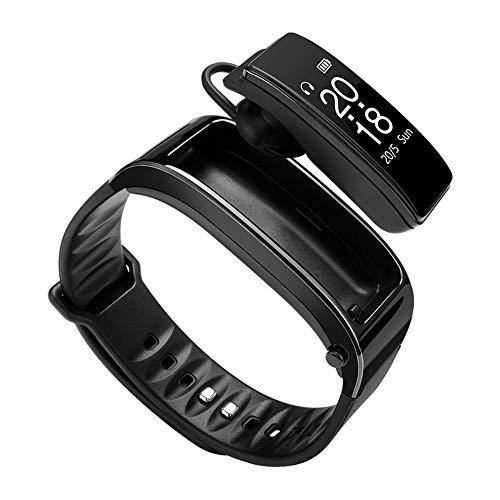 0772b7f3a8f7 Smart watch Fitness Tracker Y3 Pulsera Inteligente Auriculares Bluetooth  Probador de Ritmo cardíaco Llamadas con Manos Libres Reloj Inteligente para  ...