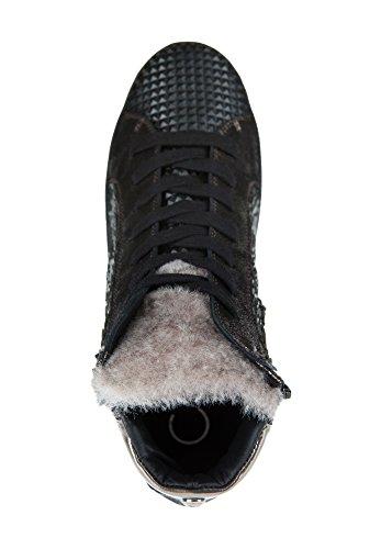 Donna Carolina, Sneaker donna Grigio/Nero