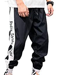 Uomo Pantaloni Sportivi vestibilità Slim Moda Sportivo Pantaloni Striscia Pantaloni  Sportivi Jogging Pantaloni Moda Stampa Lettera 706a07b54af2