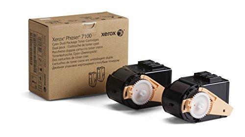 Xerox Toner Doppelpack cyan für Phaser 7100 -