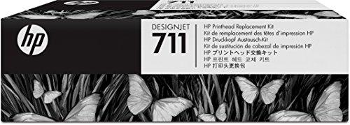 HP 711 Original Druckkopfersatzkit für HP DesignJet (Hp Designjet Plotter)