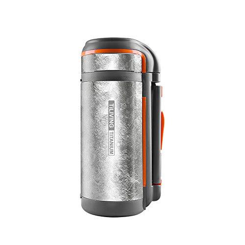 AUNLPB 2000ml Vakuum-Insulated Travel Coffee Mug, Perfect Leakproof für Kaffee, Tee, Vakuum Insulated Cup, BPA Free, Light Weight, Fashion Style,XXXL Titan Insulated Mug