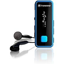 Transcend TS8GMP350B - Reproductor de MP3 (8 GB, pantalla de 1