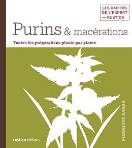 Purins & macérations par [Nardo, Pierrette]