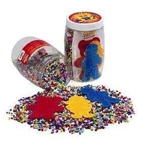 Hama - 2081 - Loisir créatif - Midi Pot : 9000 perles + plaques de couleur