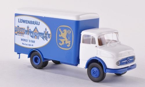 mercedes-l-322-koffer-lowenbrau-world-fair-usa-modellauto-fertigmodell-brekina-187