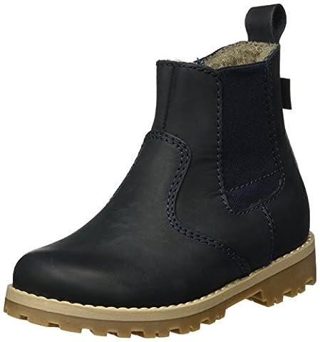 Froddo Unisex-Kinder G3160071 Chelsea Boots, Blau (Dark Blue I17), 33 EU (Chelsea Girls Schuhe)