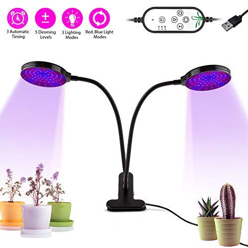 LIFU LED Pflanzenlampe Vollspektrum 30W oder 45W Pflanzenlicht für Innenpflanzen