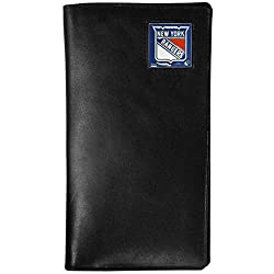 NHL New York Rangers Tall Leather Wallet