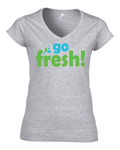 go-fresh-dope-vegan-vegeterian-slogan-womens-v-neck-t-shirt-small