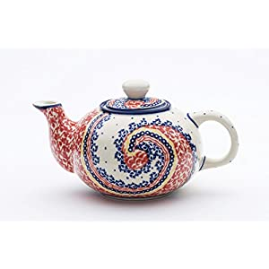 Boleslawiec Pottery Small teapot 0.42L, pattern 250AR