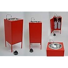 EXPRESS WATER Lavamanos portatil, autonomo. No Necesita Toma de Agua ni desague. no