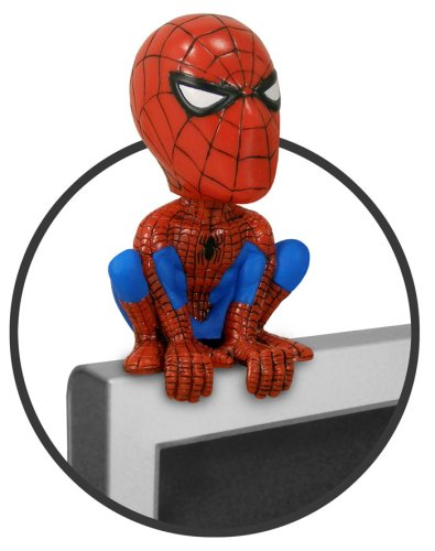 Preisvergleich Produktbild Spider-Man Wackelkopf-Figur ´Computer Sitter´ 13 cm