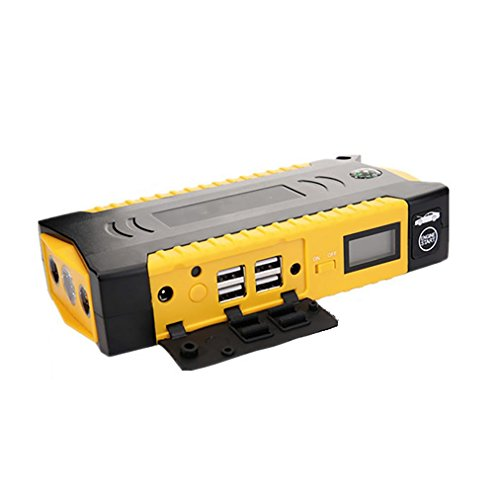 LPY-800A Peak Portable Car Jump Starter, Auto Akku Booster & Ladegerät - Power Bank mit eingebautem LED Notfall Taschenlampe - Super Leicht & Ultra Compact - Ultimate Safety Protection