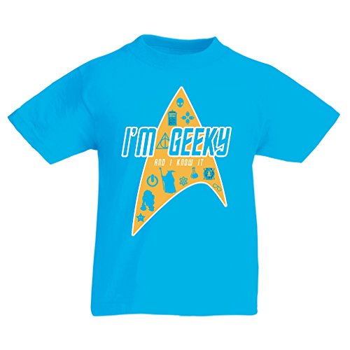 funny-t-shirts-for-kids-i-am-geeky-5-6-years-light-blue-multi-color