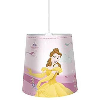 Suspension Abat-jour Disney Princesses ROSE - Luminaire lustre Princesse
