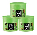 Fonex 3x Styling Wax Matte Look je 100ml 3er Set...