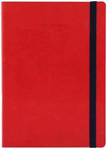 Legami MYNOT0082 Taccuino, 17 x 24 cm, Rosso