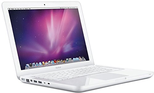 APPLE Macbook A1342 (2010) – 13.3 in Screen – Intel C2D 2.4Ghz – DDR2 SO-DIMM – 2.5″ SATA – MAC OSX 10.11 El Capitan – Webcam – Wireless (Certified Refurbished)