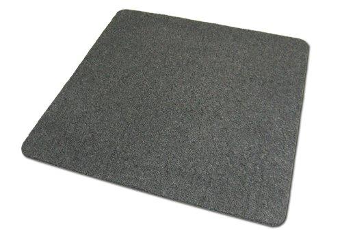 Deko-Matten-Shop Fußmatte Olefin, Schmutzfangmatte, Quadratisch, 120x120 cm, Grau, in 14 Größen und 5 Farben - Olefin-teppich