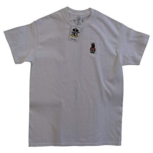 6e67a77c Camiseta Actual CooGi CARTOON bordado Hip Hop Supreme Camiseta Camiseta -  Blanco, Grande