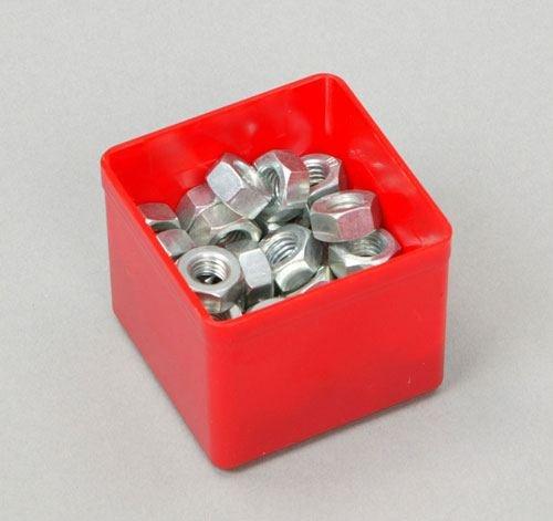 10Stück Insert45 Einsatzboxen rot für EuroPlus Flex und EuroPlus Metall - 2