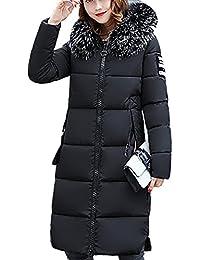 2168d3eadea Mujer Invierno Casual Más Gruesa Abrigo Parkas Militar con Capucha Chaqueta  de Acolchado Anorak Jacket Outwear