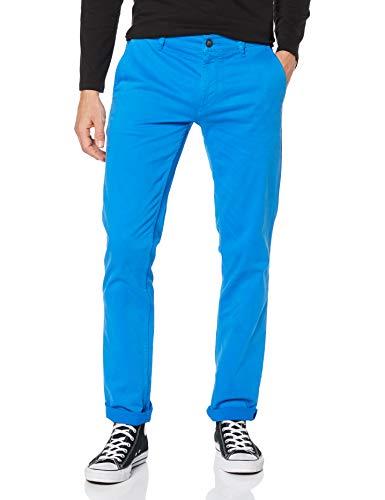 BOSS Casual Herren Schino-Slim D Hose, per Pack Blau (Light/Pastel Blue 454), W33/L32(Herstellergröße: 33 32)