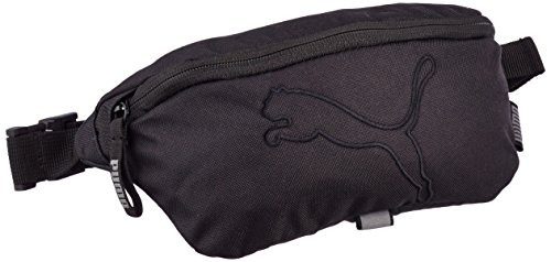 Puma Tasche Buzz Waist Bag, Schwarz, 073587 01 (Hip 1 Bag)