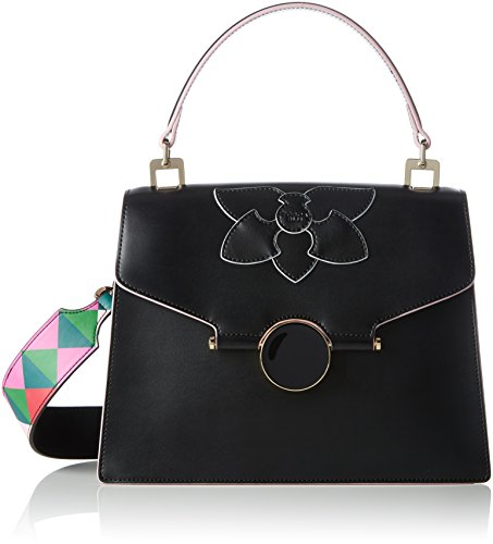 Tosca Blu - Orchidea, Borsa Donna Nero (Black)