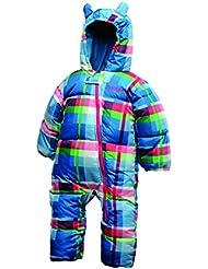 Dare 2b Kids Bugaloo Snowsuit, color blue - pink - green, tamaño 0-6M