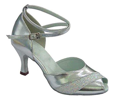 TDA - Peep-Toe donna Silver
