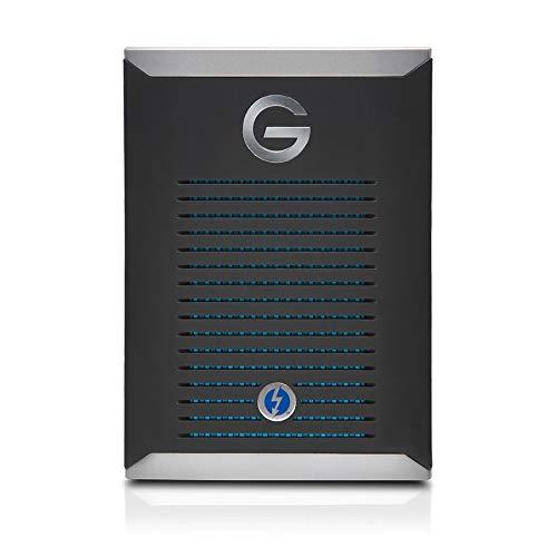 G-TECH G-DRIVE mobile Pro Thunderbolt 3 SSD 500GB Black GDMOPTB3WB5001DBB