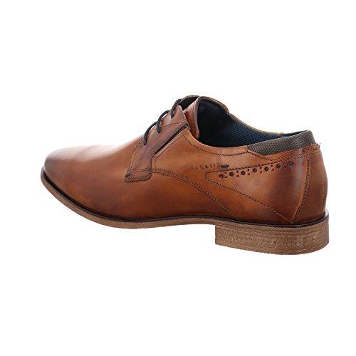 Bugatti Herren 311251011100 Derbys Braun (Cognac)