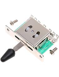 ultifit (TM) de la guitarra de la alta calidad 5 Way Interruptores selector de pastillas para guitarra el¨¦ctrica con placa de circuito PCB Durbale Guitarra Partes y Accesorios
