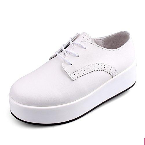 soles douces et lisses/Lacets chaussures/Chaussures femme/escoge los zapatos/chaussures à plate-forme/Les souliers A