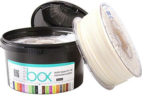 Avis Tron 1kg Asa 1.75y 2.85mm 3d impresora filamento innovadora del paquete (2.85, color blanco)
