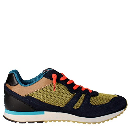 Lotto Leggenda S5812 Sneakers Homme Suède/nylon Bariolé Yellow Black