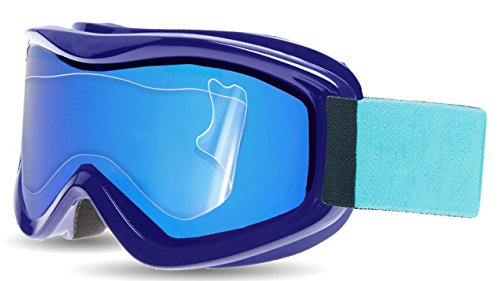 Ripclear Bolle AMP Snow Goggle Lens Protector Kit - Scratch-Resistant, Crystal Clear - 3-Pack