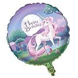 Folienballon * MEIN MAGISCHES EINHORN * für Kindergeburtstag und Motto-Party // Luftballon Ballon Helium Deko