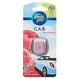 Ambi Pur Car Deodorante per Auto con Clip, Fiori Delicati, 2 ml