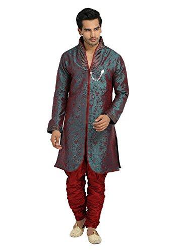 Runako-Mens-Silk-Blend-Sherwani